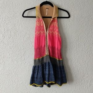 Free people knit tank top size S